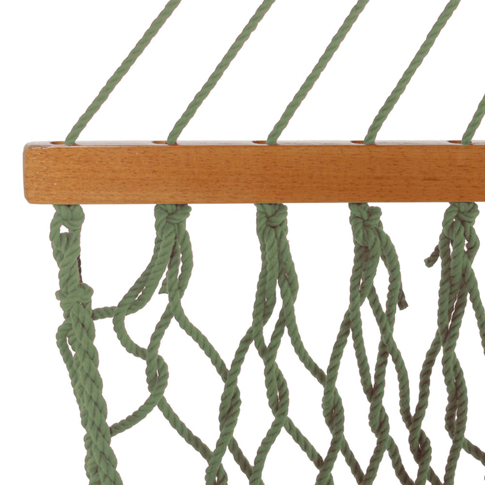 Pawleys Island Large Original DuraCord® Rope Hammock in Meadow - Soothing Company
