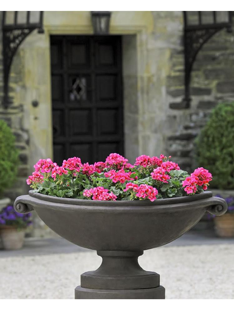 Medici Garden Planter in Nero Nuovo - Soothing Company