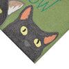 Liora Manne Frontporch Meow Green Area Rug - Soothing Company