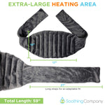Microwavable Extra Large Heating Pad - Soothing Company