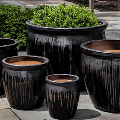 Mirador Planter Set of 5 in Anthracite - Soothing Company
