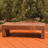 Modern Backless Stone Bench - Soothing Company