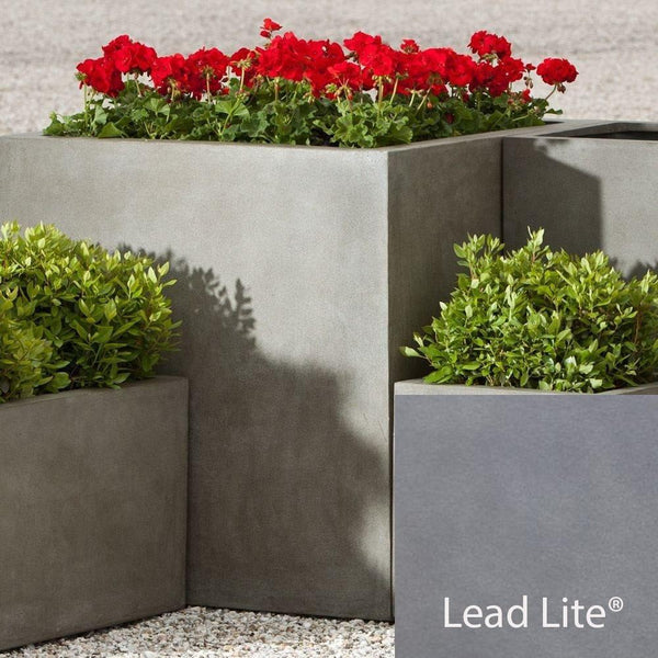 Farnley Planter 3636 in Lead Lite® - Soothing Company