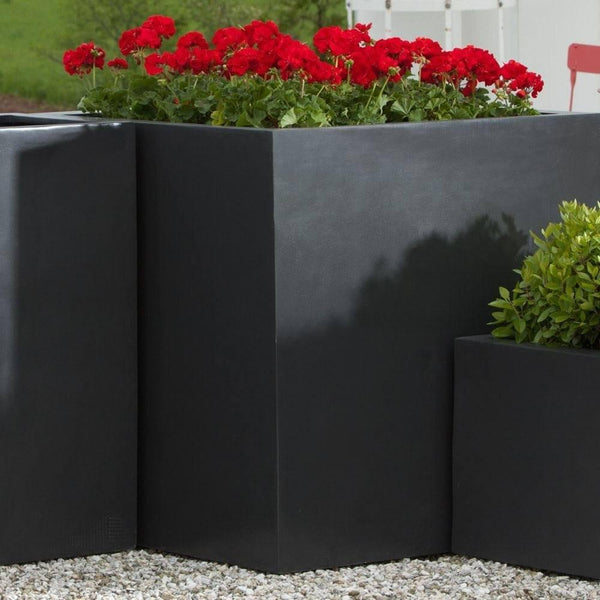 Modular Square Planter 5 in Onyx Black Lite® - Soothing Company