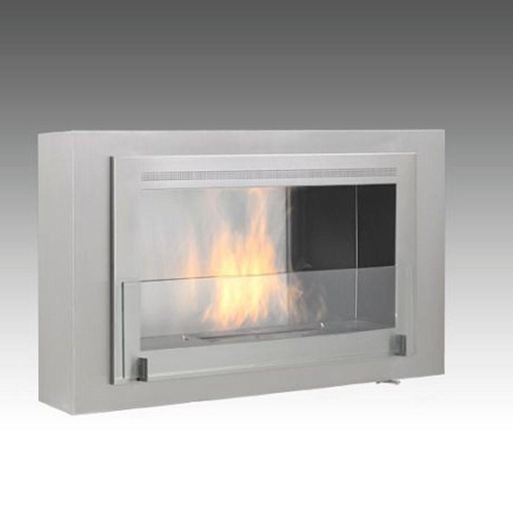 Eco-Feu Montreal Wall Mounted Biofuel Fireplace - Soothing Company