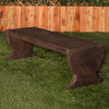 Moris Backless Stone Bench - Soothing Company
