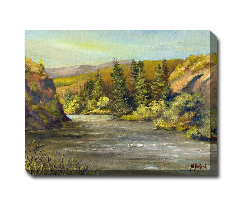 Morning Brunch Outdoor Canvas Art