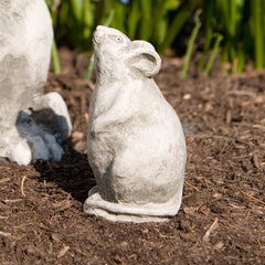 Mousie Cast Stone Garden Statue - Soothing Company