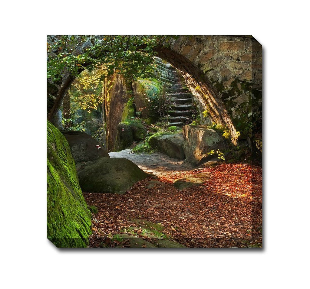 Nature's Nook Outdoor Canvas Art