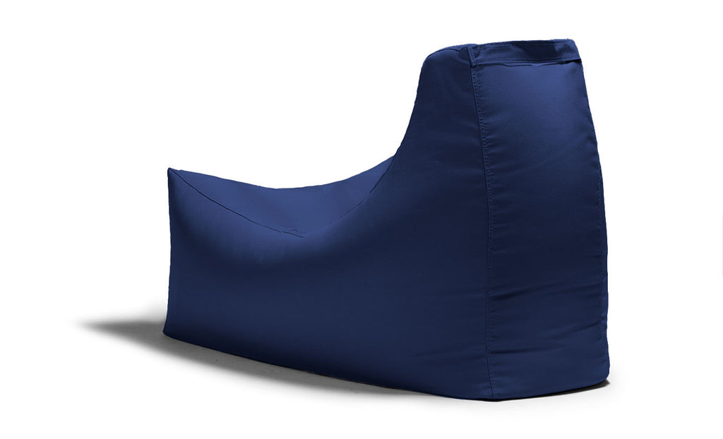 Juniper Outdoor Bean Bag Chair Navy - Soothing Company