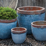 Nevis Planter - Set of 4 in Beachcomber - Soothing Company