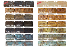 Henri Studio Color Chart - Soothing Company