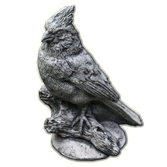 Northern Cardinal Cast Stone Garden Statue - Soothing Company