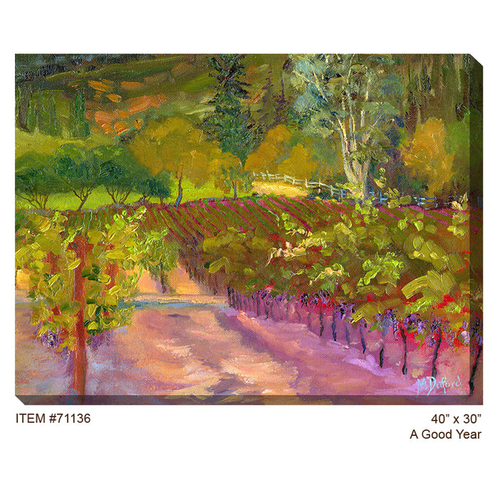 A Good Year Outdoor Canvas Art - Soothing Company