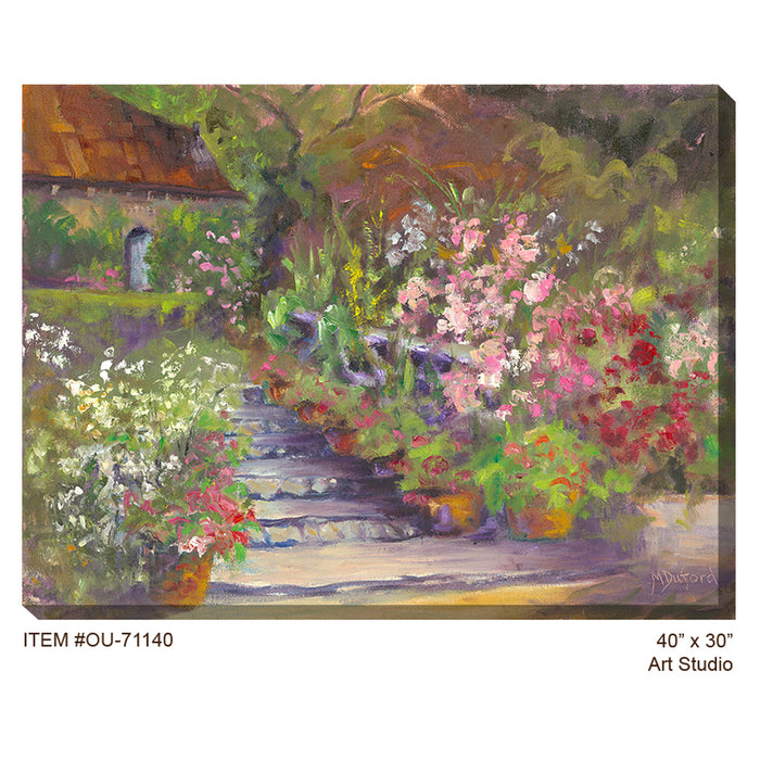 Art Studio Outdoor Canvas Art - Soothing Company