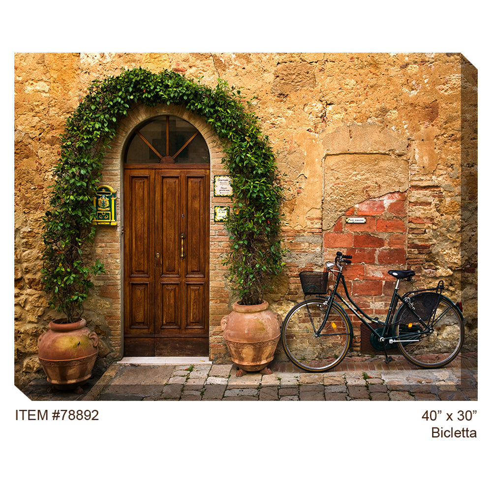 Bicletta Outdoor Canvas Art - Soothing Company