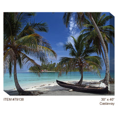 Castaway Outdoor Canvas Art - Soothing Walls