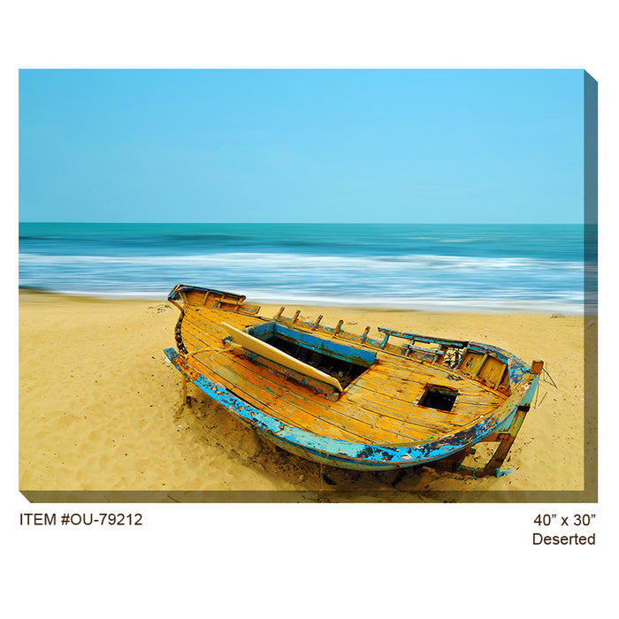 Deserted Outdoor Canvas Art - Soothing Company