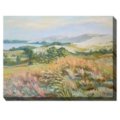 Coastal Grass Outdoor Canvas Art - Soothing Company