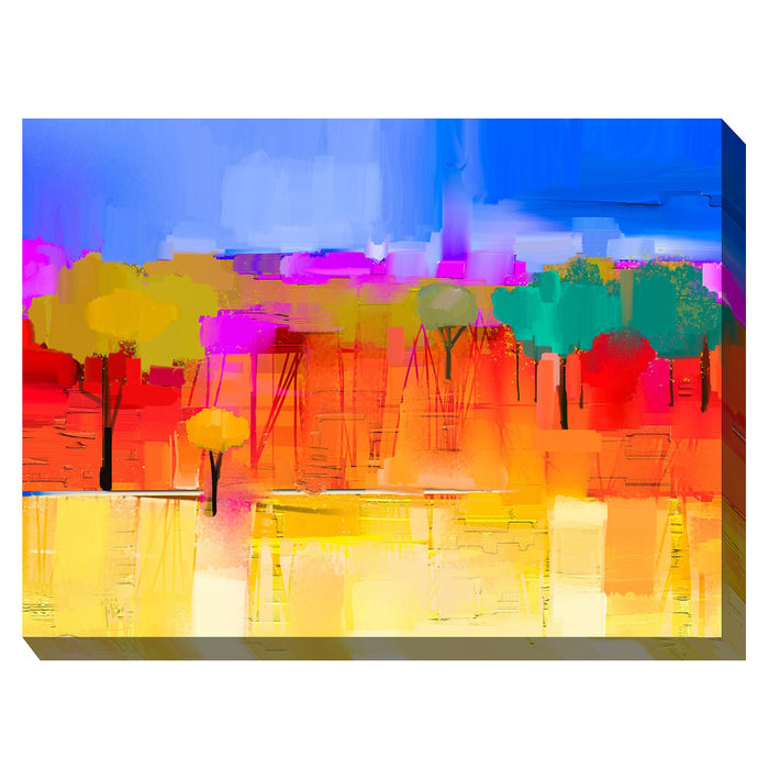 City Park Outdoor Canvas Art - Soothing Company