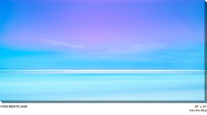 Into the Blue Outdoor Canvas Art - Soothing Company