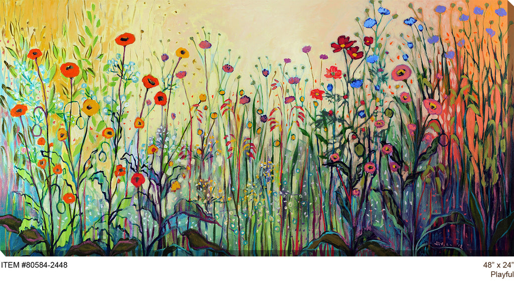 Playful Outdoor Canvas Art - Soothing Company