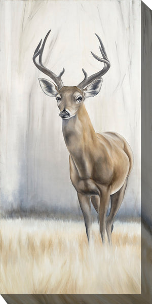 Eight Point Deer Outdoor Canvas Art - Soothing Company