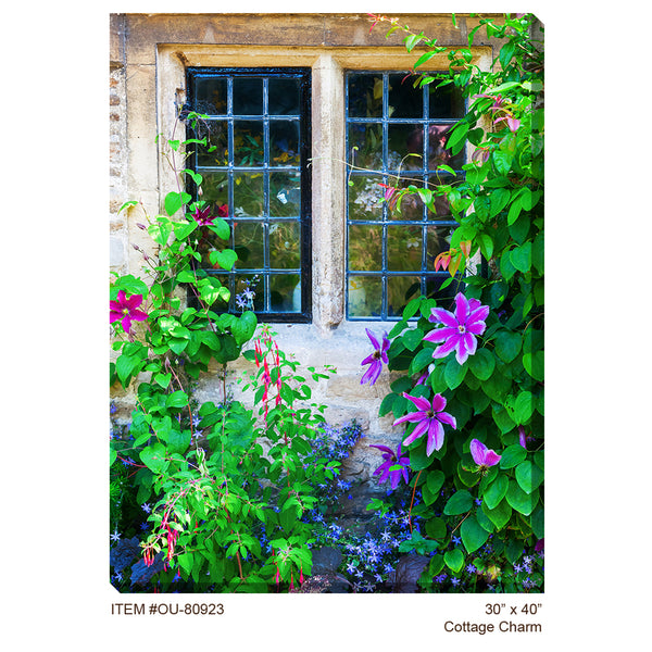 Cottage Charm Outdoor Canvas Art - Soothing Company