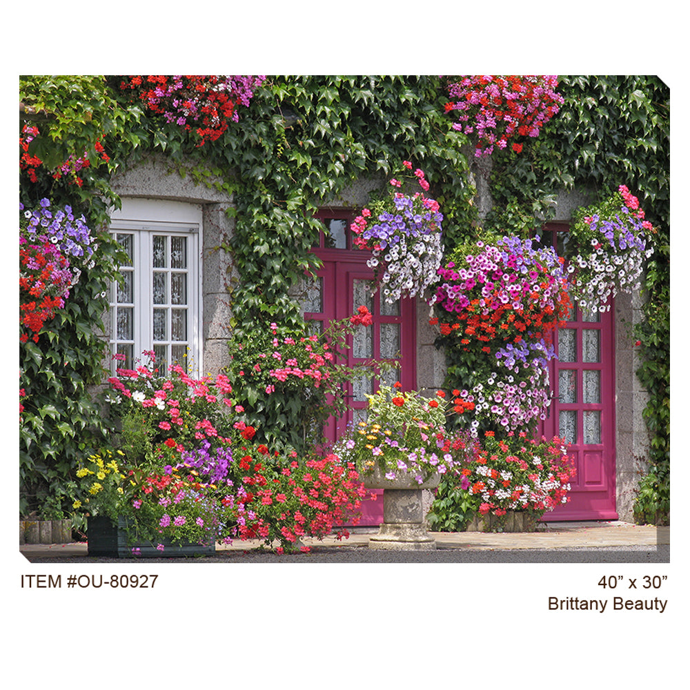 Brittany Beauty Outdoor Canvas Art - Soothing Company