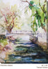 Tranquil Stream Outdoor Canvas Art - Soothing Company