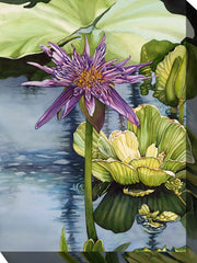 Lily Outdoor Canvas Art - SoothingCompany