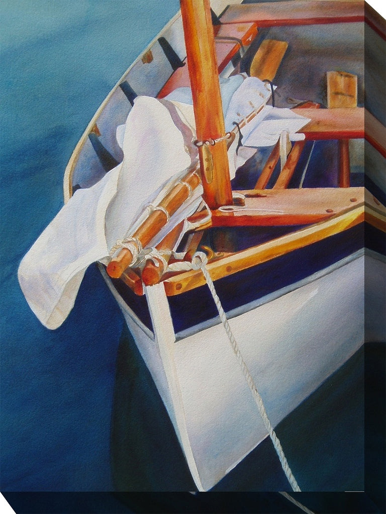 Sail Away Outdoor Canvas Art - Soothing Company