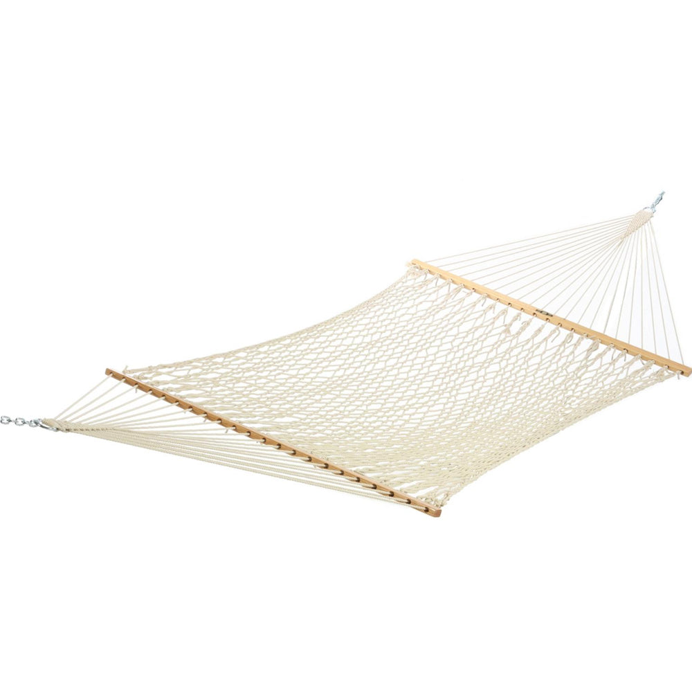 Large Original DuraCord Rope Hammock - Oatmeal - Soothing Company