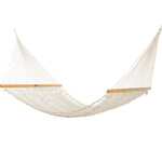 Presidential Size Original DuraCord® Rope Hammock in Oatmeal - Soothing Company