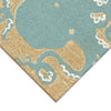 Liora Manne Frontporch Octopus Aqua Area Rug - Soothing Company - Soothing Company