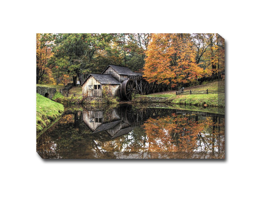 Old Mill Canvas Wall Art