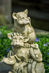On The Lookout Cast Stone Garden Statue - Soothing Company