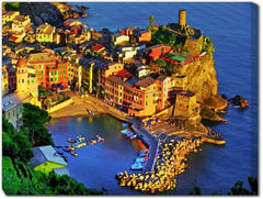 Overlook Vernazza Outdoor Canvas Art