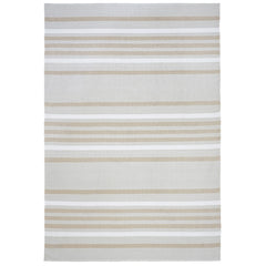 Liora Manne Plaza Stripe Neutral Area Rug- Soothing Company