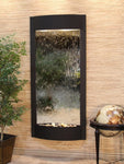 Pacifica Waters: Silver Mirror with Textured Black Trim