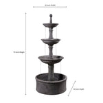 Palace Outdoor Floor Fountain - Soothing Company