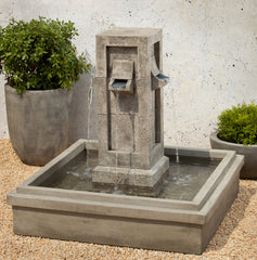 Pallisades Garden Water Fountain - Soothing Company