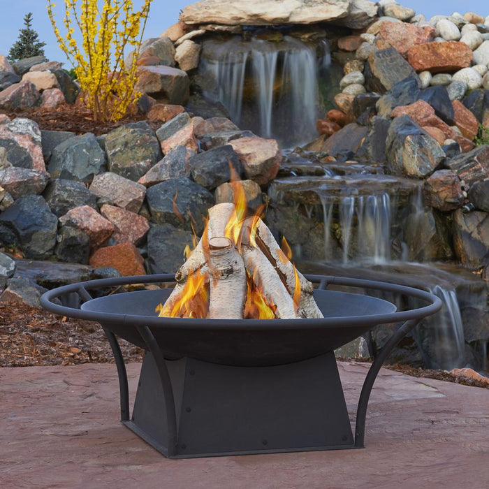 Parker Wood Burning Fire Pit - Soothing Company
