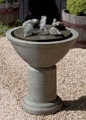 Passaros II Garden Water Fountain - Soothing Company