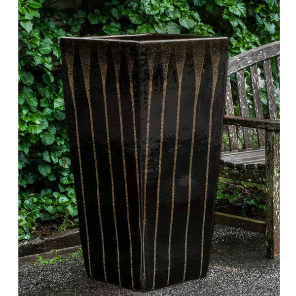 Patrizio Planter in Chocolate Stout Glaze - Soothing Company