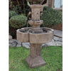 Piazza Tiered Outdoor Fountain - Soothing Walls