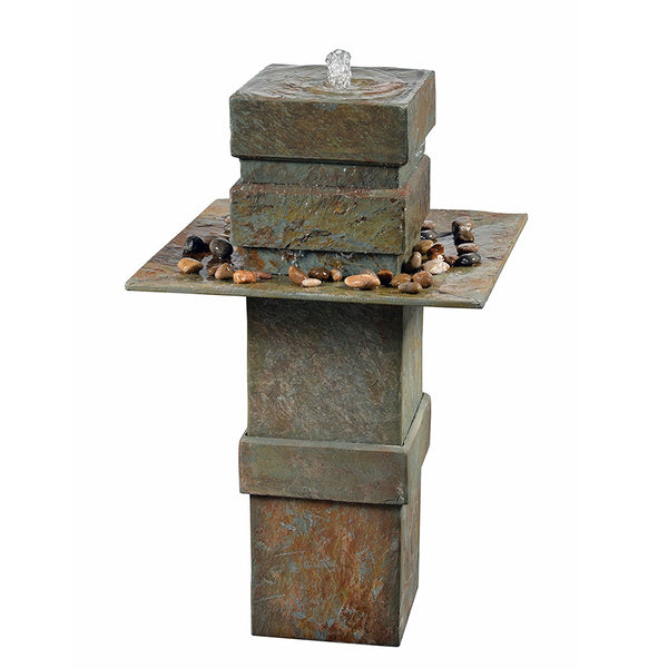 Pilaster Floor Fountain - Soothing Company