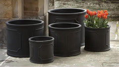 Portsmouth Round Planters in Black - Soothing Company
