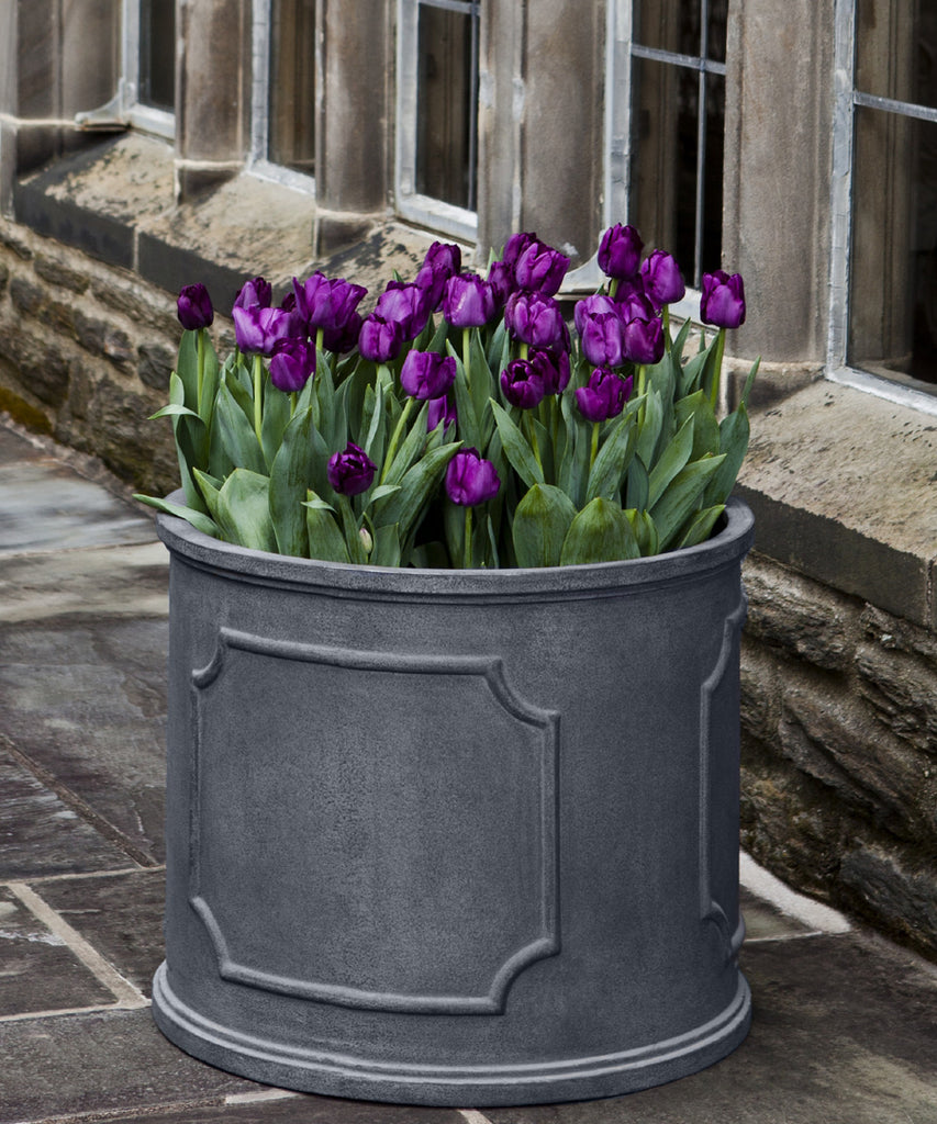 Portsmouth Round Lead Lite Planter - Medium - Soothing Company