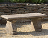 Provencal Cast Stone Bench - Soothing Company